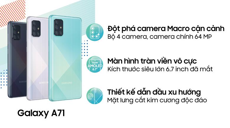 Điện thoại Samsung Galaxy A71 chính hãng