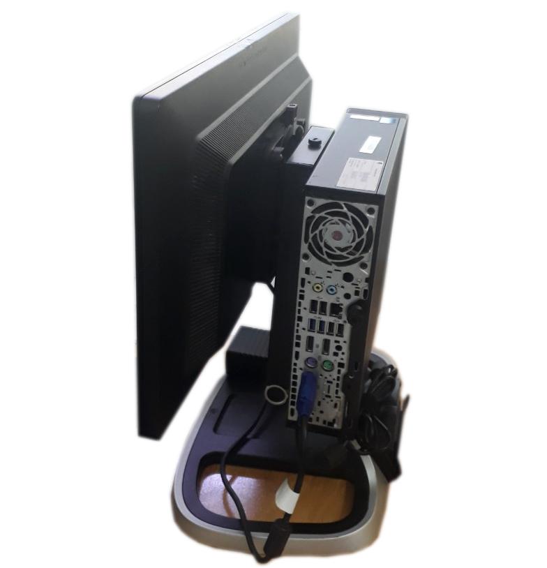 Máy bộ HP Elite Desk 800 G1 USDT - I5/Ram 8gb/500gb HDD/LCD 20 inch 99%