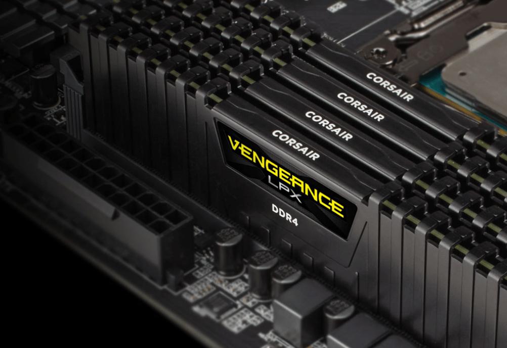 Ram 8GB (CMK8GX4M1A2666C16) DDR IV Bus 2666 CORSAIR Vengeance LPX - Chính  hãng