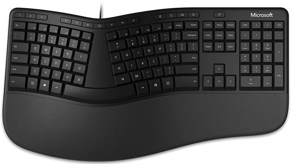 Keyboard Microsoft Ergonomic LXM-00015 Có dây