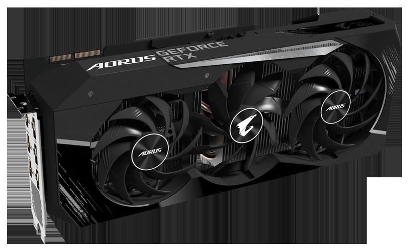 CARD AORUS GeForce RTX 3090 MASTER 24G (GV-N3090AORUS M-24GD) Chính Hãng