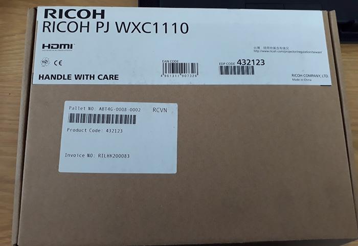 Máy Chiếu Ricoh PJ WXC1110 (1280x800) nặng 0.45kg Chính Hãng