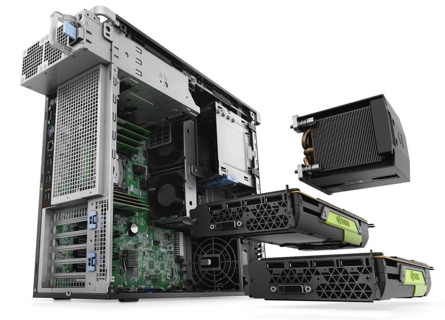 Dell Precision 5820 Tower XCTO Base 42PT58DW29 - RAM 32GB/1TGB HDD Chính Hãng