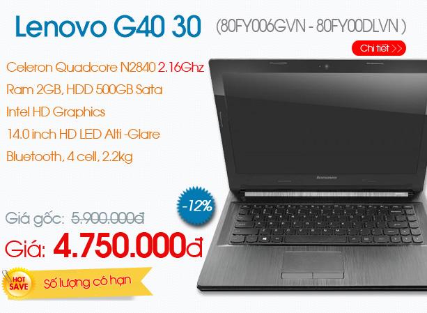 Lenovo G40 30 (80FY006GVN )