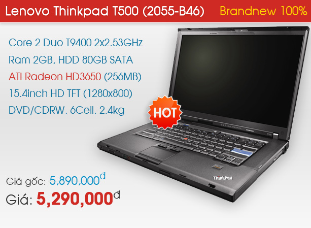 Lenovo Thinkpad T500 (2055-B46)