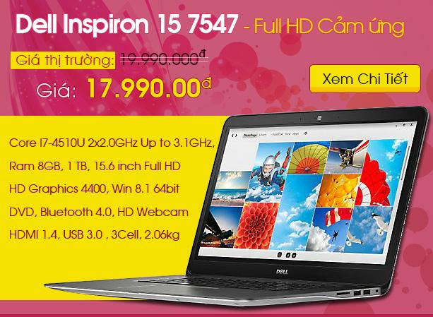 Dell Inspiron 15 7547
