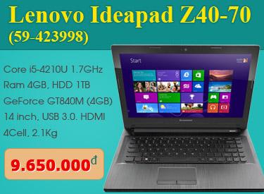 Lenovo IDEAPAD Z40-70 nho