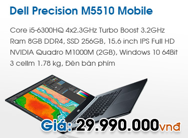 DELL Precision M5510 Mobile Workstation