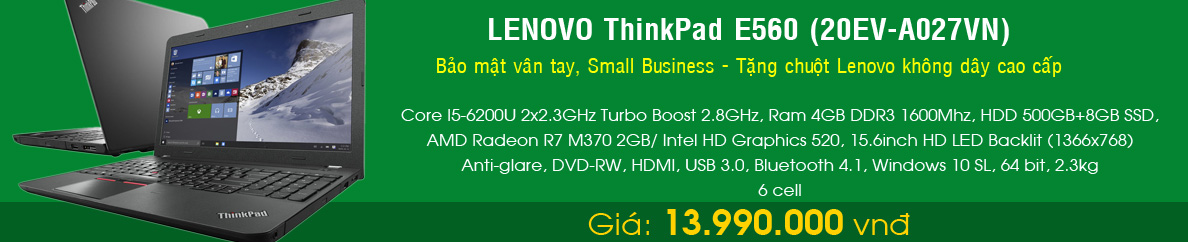 LENOVO ThinkPad E560 (20EV-A027VN)