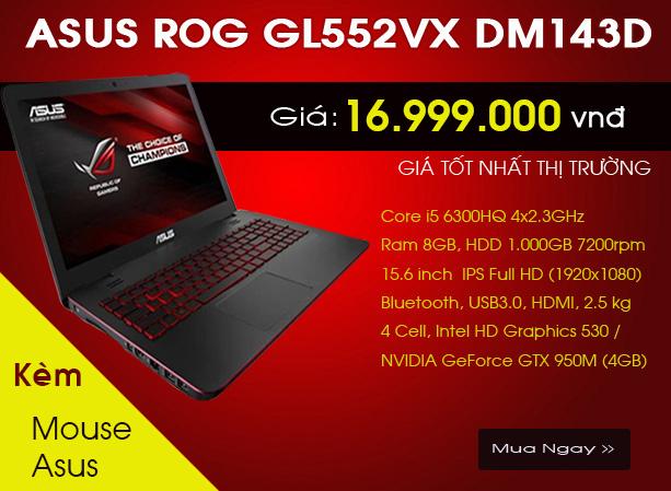 ASUS GL552VX-DM143D