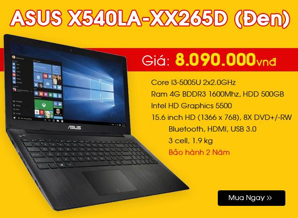 ASUS X540LA-XX265D
