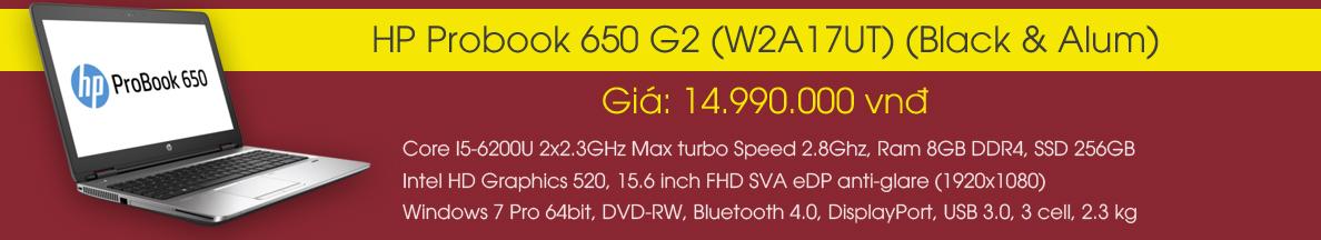 HP Probook 650 G2 (W2A17UT)