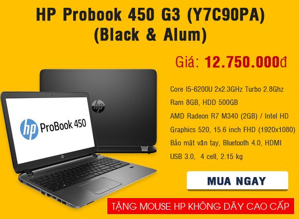 HP Probook 450 G3 (Y7C90PA)