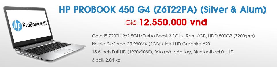 HP PROBOOK 450 G4 (Z6T22PA) (Silver & Alum)