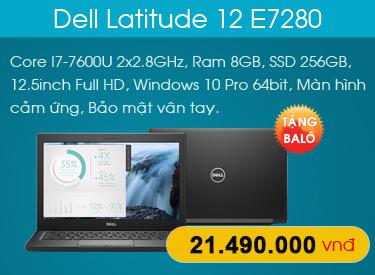 Dell Latitude 12 E7280