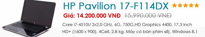 HP Pavilion 17-F114DX