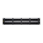 PATCH PANEL AMP CAT 6 48 port, 19inch rack mount