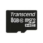 Micro SD class 10 TRANSCEND 8GB