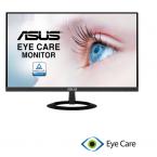 """Màn hình vi tính 21,5"""" ASUS VZ229HE LCD-IPS, thiết kế khung nhôm không viền, Lọc ánh sáng xanh, 1920x1080 16:9, 80000000:1, chống lóa, HDMI, D-Sub. Cable VGA, không loa, Chân: đen"""