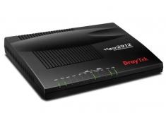 ROUTER Draytek -V2912F( FW, VPN, Load balancing) 4LAN (10/100Mbps ) + VPN 16 channel + 3 WAN (1 wan kết nối USB 3G) + 1SFP trực tiếp