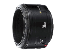 Lens Canon 50mm f/1.8 II EF