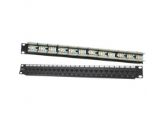 PATCH PANEL DINTEK CAT 5 24 port