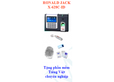 MÁY CHẤM CÔNG BẰNG VÂN TAY RONALD JACK X628C (vân tay + thẻ)