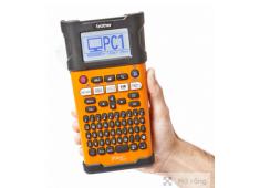 Máy in nhãn Brother PT-E300. Máy in nhãn cầm tay chuyên dụng cho thi công điện, viễn thông và hạ tầng mạng. Nhãn TZ tape, 6-18mm