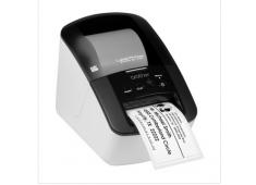 Máy in nhãn giấy Brother QL-700. Khổ ngang 12, 17, 29, 38, 62mm, nhãn DVD/CD. Kết nối USB