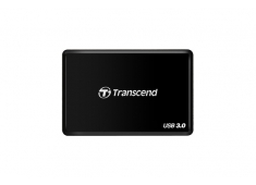 "Đầu đọc thẻ nhớ USB3.0 All in1 Multi-Card Reader - Transcend F8K (màu đen)"" TS-RDF8K"