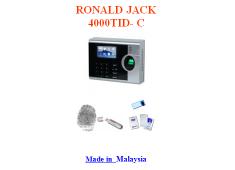 MÁY CHẤM CÔNG BẰNG VÂN TAY RONALD JACK 4000 TID-C (vân tay + thẻ)