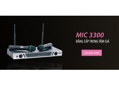 Micro Không Dây Micro WMU 3300