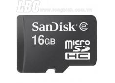 Thẻ Nhớ 16GB, Sandisk Ultra MicroSDHC (Class 10) 48MB/S 2015