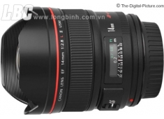 Lens CANON Wide-Angle EF 14mm f/2.8L II USM (chính hãng Canon VN - LBM)
