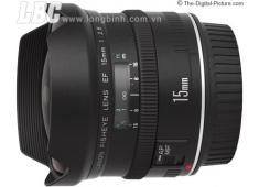 Lens CANON ULTRA WIDE EF 15mm f/2.8 Fisheye (chính hãng Canon VN - LBM)