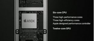 Chip A10X Fusion trên iPad Pro 10.5 inch lộ điểm hiệu năng cao ngất ngưỡng