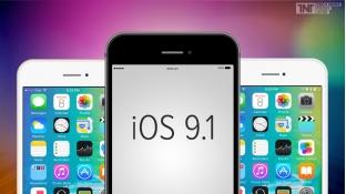 Apple chính thức phát hành phiên bản iOS 9.1