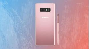 Galaxy Note 8 bất ngờ có thêm tùy chọn màu hồng