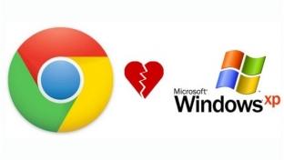 Google Chrome sẽ chính thức nói lời chia tay với Windows XP vào năm sau