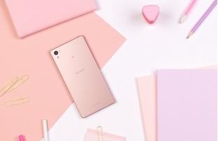 Sony giới thiệu Xperia Z5 phiên bản hồng nữ tính