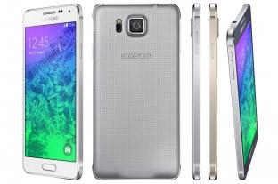 Galaxy Anpha mẫu smartphone khung kim loại đầu tiên của Samsung