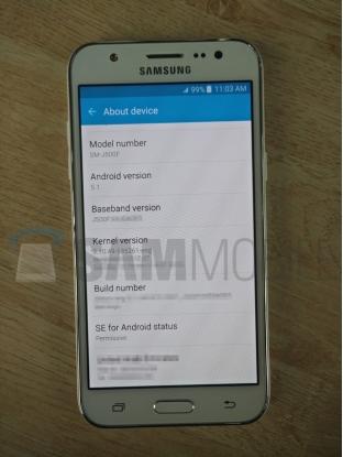 Smartphone tầm trung Samsung Galaxy J5 bất ngờ lộ diện