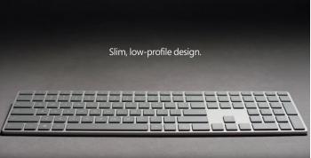 Microsoft ra mắt bàn phím Modern Keyboard mới trang bị cảm biến vân tay