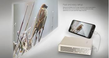 Asus trình làng máy chiếu ZenBeam Go E1Z mang phong cách Zenbook
