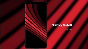 Galaxy Note 8 màn hình vô cực lộ diện trong ảnh mới