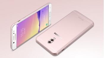 Smartphone camera kép Samsung Galaxy C8 chính thức trình làng