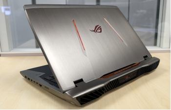 Asus giới thiệu laptop ROG G701 dành cho game thủ