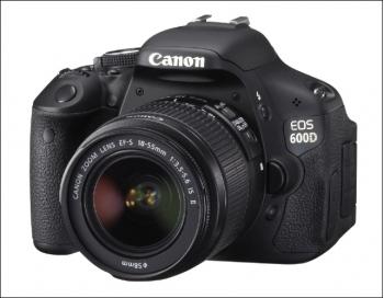 Canon EOS 600D được tích hợp nhiều chức năng hấp dẫn