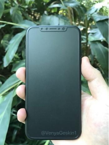 Mô hình iPhone 8 tiết lộ thiết kế viền màn hình siêu mỏng, không có nút Home cứng