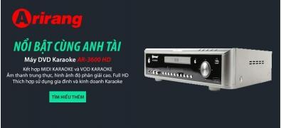 Máy DVD Karaoke AR-3600HD